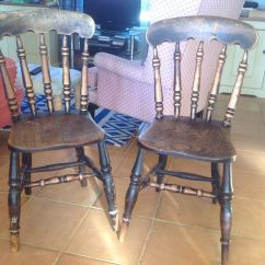 Vintage Kitchen Chairs Shoes For Chefs In Andover Hampshire Gumtree Alison