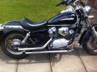 Honda Shadow VT 125 rare Ledrie drag pipes exhaust | in ...