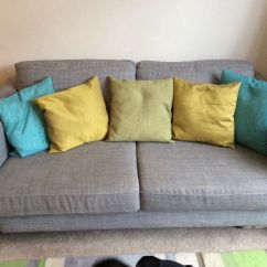 Karlstad 3 Seat Sofa Bed Cover Beds Melbourne Victoria Seater . Ikea Isunda Grey. Removable ...