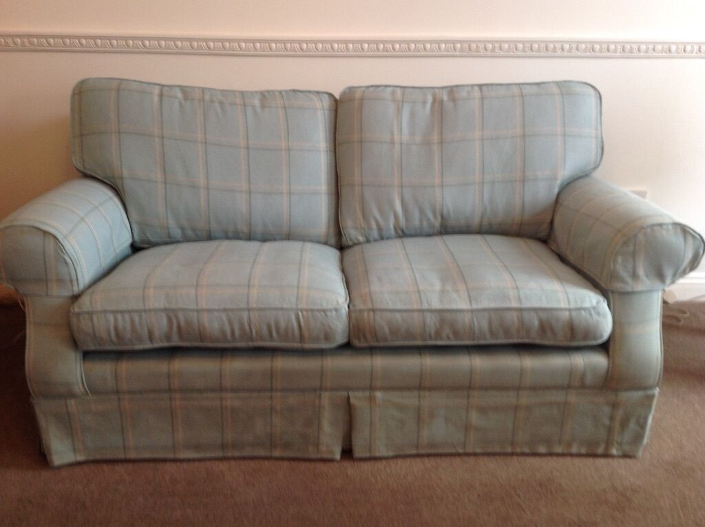 padstow 2 seater sofa laura ashley standard dimensions in cm a duck egg blue ...