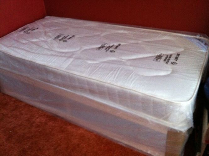 New Single Mattress And Bed Frame Slumber Sound Cardiff