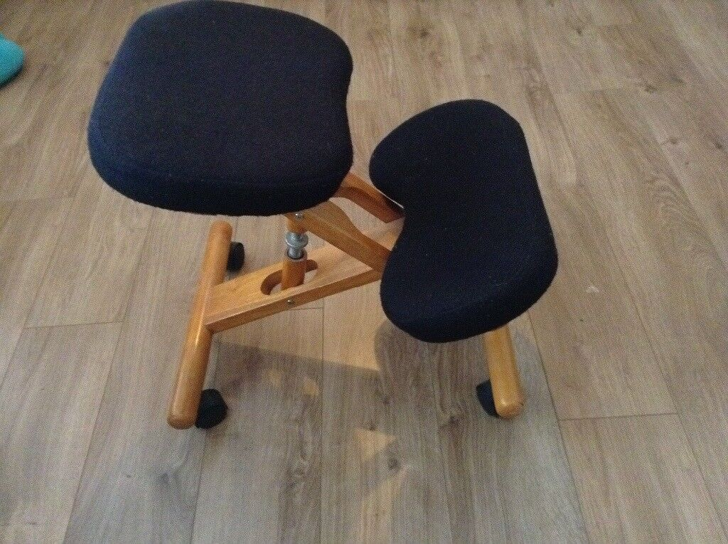 posture deluxe chair stool synonym wooden kneeler in sheffield south yorkshire