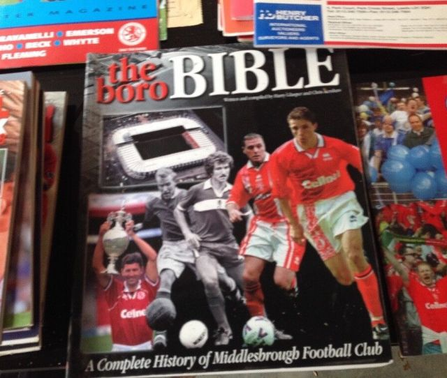Middlesbrough Fc Programmes