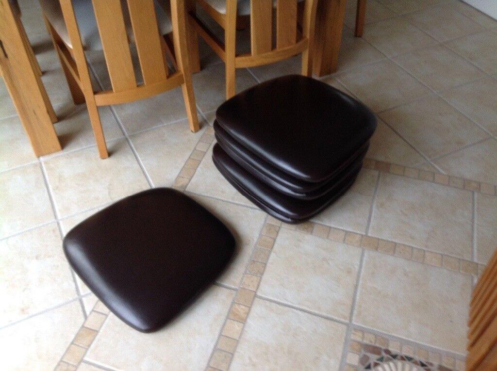 bedroom chair gumtree ferndown wheelchair vans of florida 6 dining room cushioned seat parts in