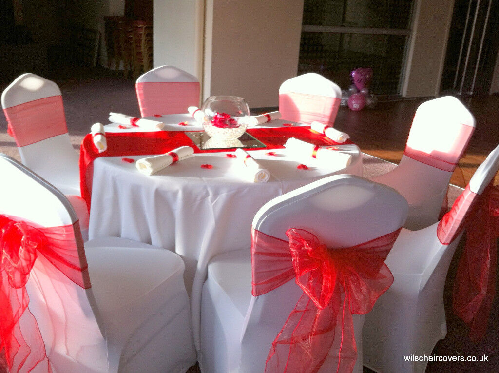 wedding chair cover hire bedford xpr fishing covers for 50 100 inc sashes and set up lots of other decor also available in edinburgh gumtree