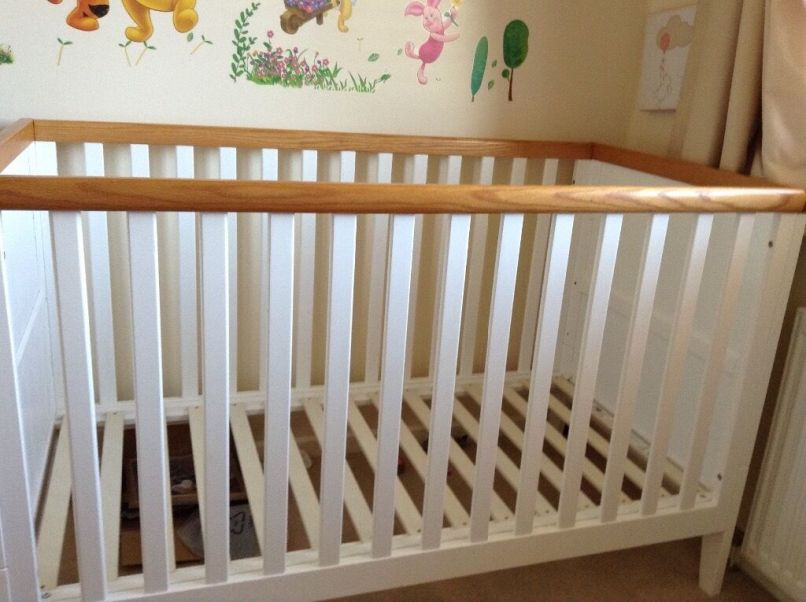 Mothercare Summer Oak Cot Bed