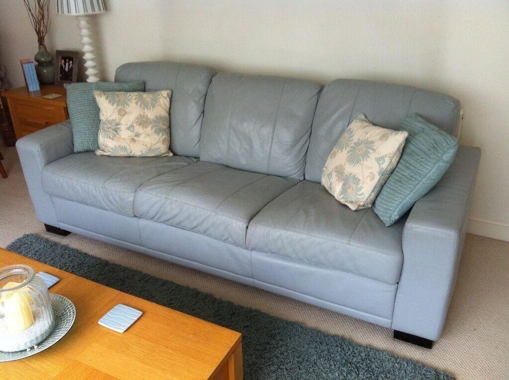Blue Italian Leather Sofa Sectional Sofa Design Elegant