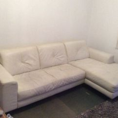 Good Leather Cleaner For Sofas Sofa Tables On Sale Free White Used And Need Of A Clean But Condition In Reigate Surrey Gumtree