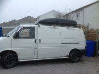 VW T4 Roof Rack & Large Roof Box - Volkswagen Transporter ...