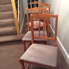 Bedroom Chair Gumtree Ferndown Homedics Anti Gravity Four Dining Room Chairs In Dorset