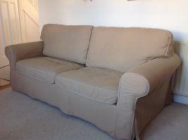 IKEA Ektorp Sofa Bed Beige.   in Henleaze, Bristol   Gumtree
