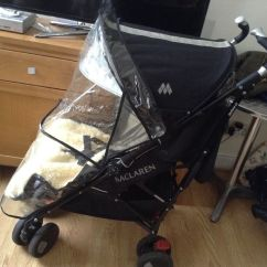 Baby Bjorn Booster Chair Vinyl Folding Lovingheartdesigns Maclaren Xt 4w Suspension Pushchair In Excellent Condition