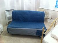 Ikea Lyksela Denim sofa bed | in Dorchester, Dorset | Gumtree