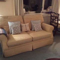 Padstow 2 Seater Sofa Laura Ashley Settee Bed Sofas, Two, Gold, (padstow Design)   In ...