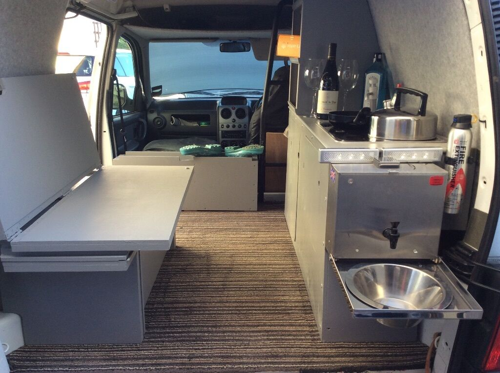 Citroen Berlingo home camper van conversion  in
