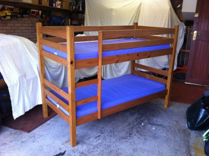 Contempo Bunk Bed By Bensons For Beds Complete With Mattresses And Covers