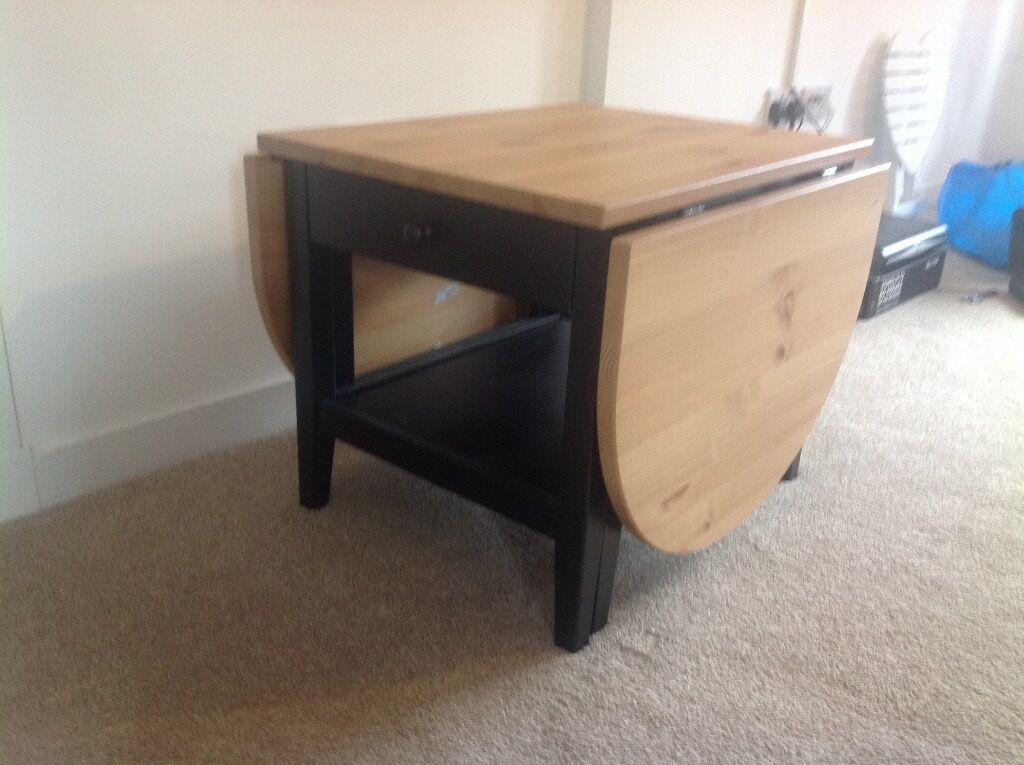 "BRAND NEW COFFEE TABLE Ex IKEA ""ARKELSTORP"", SOLID WOOD"