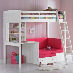Sofa Sleeper For Cabin Murphy Bed With Combo Girls High Desk And Pull Out In