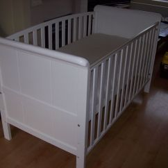 Sofa Toys R Us Tufted Back Ideas Babies Aspen 3 In 1 Cot Bed Toddler With Or Without Mattress Also Available Bedding