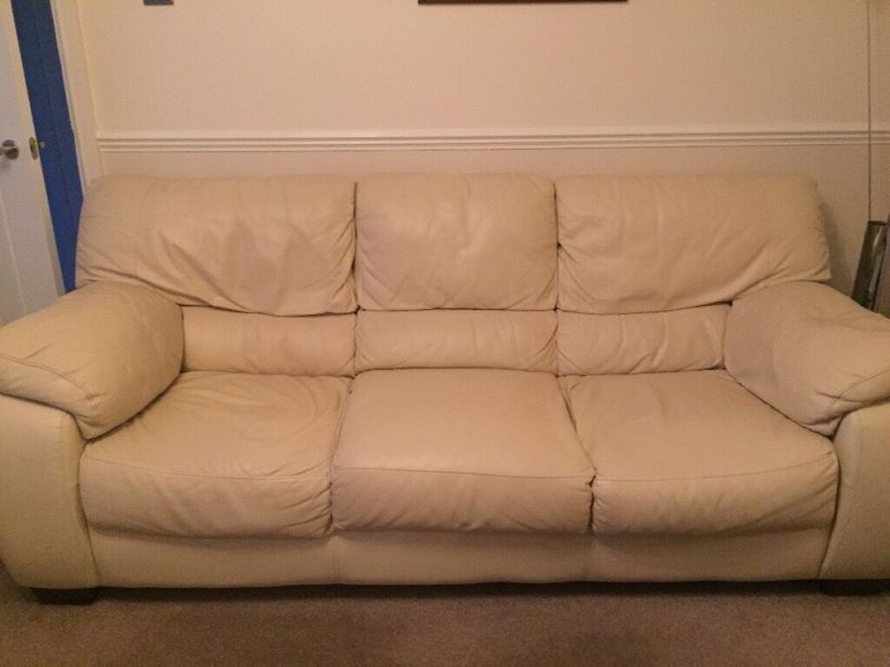 Faux Leather Sofa Bed Gumtree