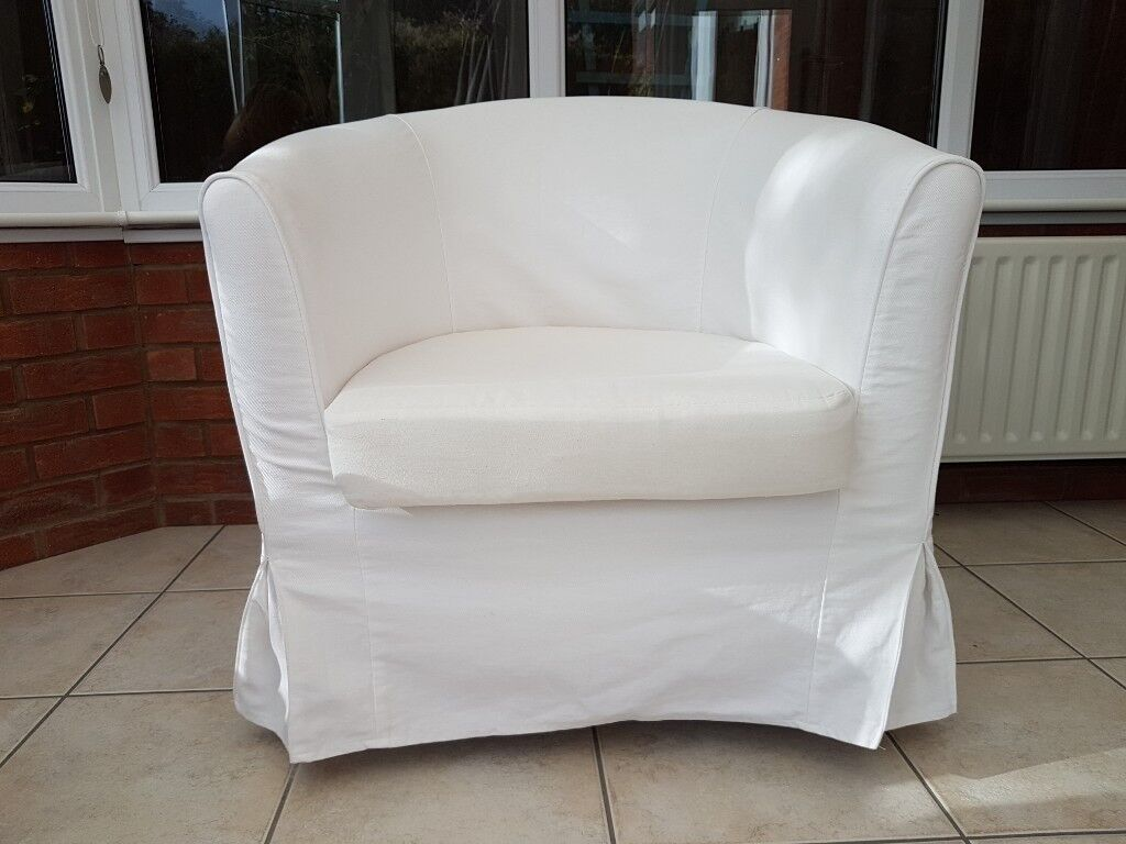 tub chair covers ireland red leather barrel www sham store ikea tullsta x 2 in hinckley leicestershire rh gumtree com australia