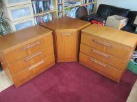 3 pieces of Sakol bedroom furniture -2 drawers, 1 corner ...