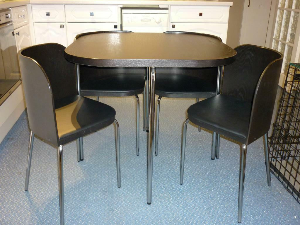 Space Saving Table And Chairs Ikea Fusion Space Saver Table And Purchase Sale And