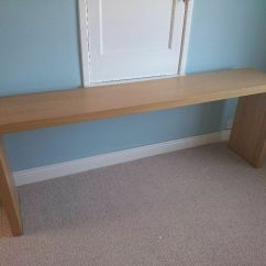 Ikea Sofa With Wheels Cleaning Dubai Console Table Over Bed  Nazarm
