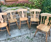 traditional wooden kitchen chairs