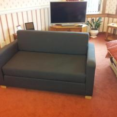 Solsta Sofa Bed Ransta Dark Gray 149 00 Red Leather Modern Ikea Two Seat Buy Sale And Trade Ads