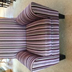 Bean Bag Chair Cost Summer Infant Bentwood High Next Purple Striped | In Cardiff Gumtree