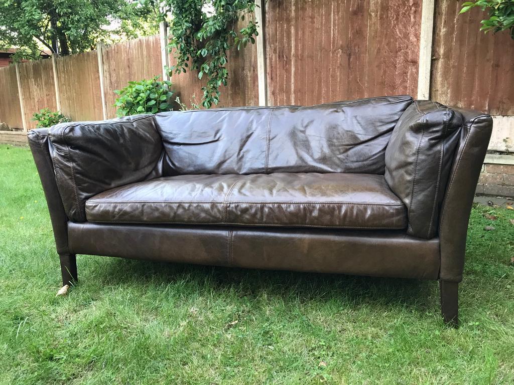 halo kensington leather sofa real sofas uk john lewis groucho in