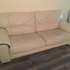 Leather Sofas Second Hand Glasgow Curved Settee Sofa Gumtree Brokeasshome