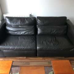 Leather Sofas Ikea Armless Sofa Free Black In South East London