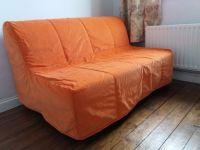 Sofa Bed Orange Orange Futon Couch From Target I Have ...