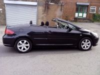 2006 PEUGEOT 307 CC S BLACK S CONVIRTIBLE CABRIO LOW
