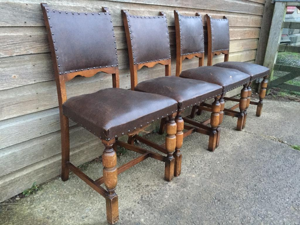 medieval dining chairs aeron chair lumbar support set of four vintage banquet in