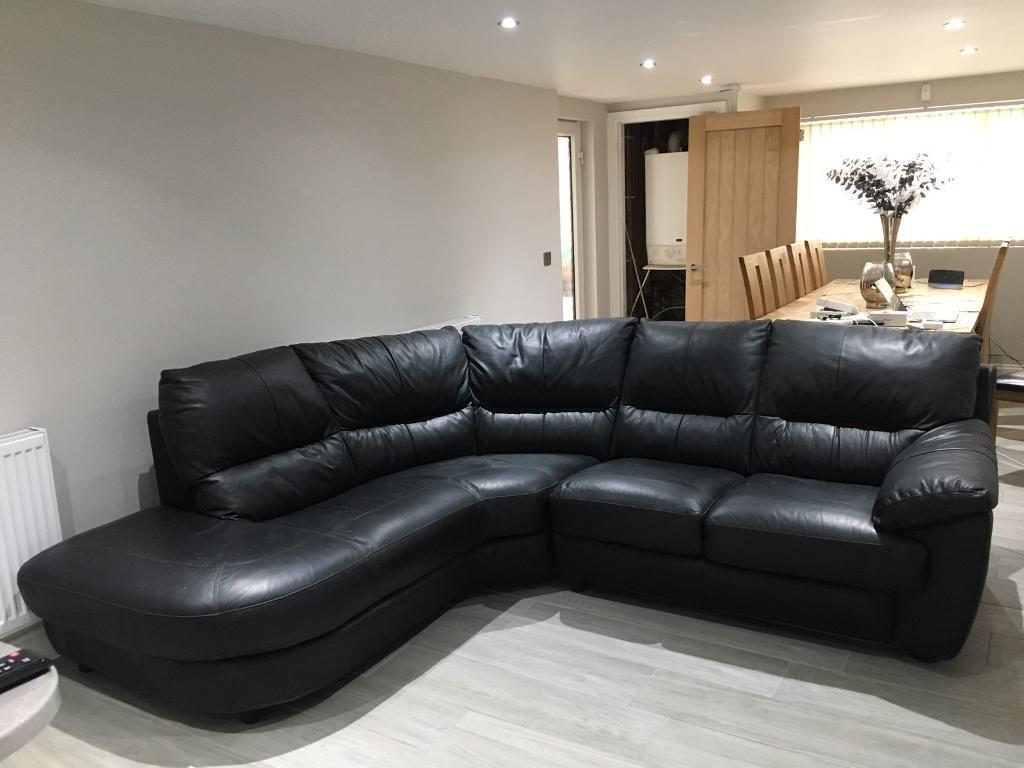 real leather corner sofas uk standard sofa height in mm dfs genuine swindon wiltshire