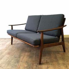 Retro Sofas Fulham Sage Microfiber Sofa Set Two Seater Brokeasshome