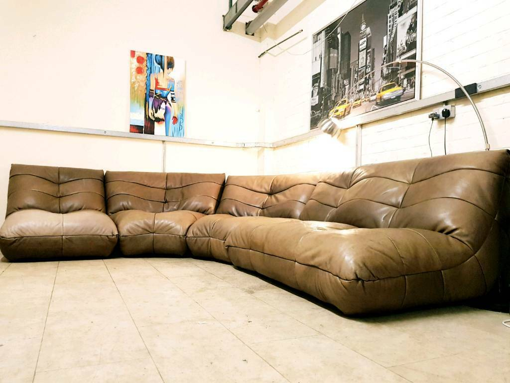 togo sofa replica uk best leather brands in india ligne roset style distressed modular by csl rrp 3500