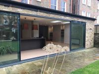 Bespoke aluminium 4 panel sliding patio door - PERFECT ...