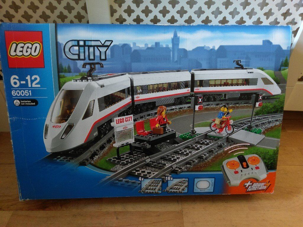 Lego City High Speed Passenger Train 60051 - Complete Set. as new   in Poole. Dorset   Gumtree