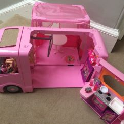 Purple Bean Bag Chair Camping World Chairs Barbie Camper Van With All Accessories   In Granton, Edinburgh Gumtree