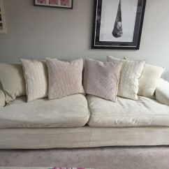 7ft Sofa Cover Costco Newton Chaise Dfs Cream Material Large Sofas With Removable Washable