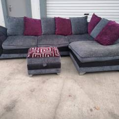 Corner Sofas Glasgow Gumtree Crate Barrel Sofa Covers Dfs Grey Fabric Couch Suite Delivery In Southside