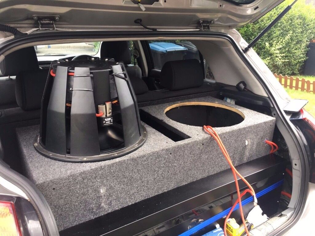 Pair Of 12quot Dual 4 Ohm Prime Stage 2 Series Subwoofers Power Handling 15 Subwoofer Box Veterinariancolleges Dvc Ported Sub In Enfield London Saveenlarge