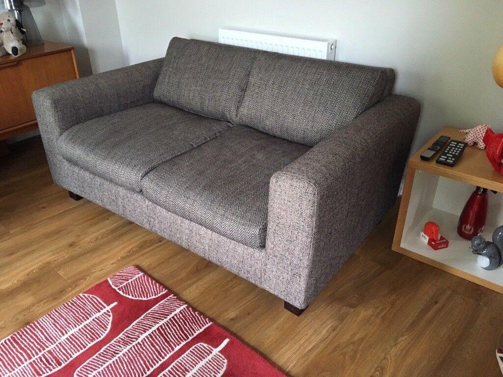 habitat chester sofa leather rattan effect corner dining set woven 31 off ethan allen ivory jacquard