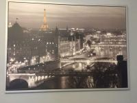 Large IKEA Paris Canvas Wall Art Picture | in Peterlee ...