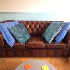 Chesterfield Sofa London Second Hand Contemporary Set Online Matching Vintage Armchair In Leytonstone 250 00 Images Map Https I Ebayimg Com S Nzy4wdewmjq