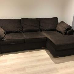 Sofas And Chairs At Next Serta Napa Microfiber Convertible Sofa Garda Corner In Chiddingfold Surrey Gumtree